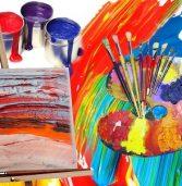Художня школа презентує виставку робіт молодих талантів