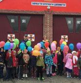 Млинівські рятувальники приймали в гості дошкільнят