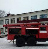 У школі господарював вогонь (фото)