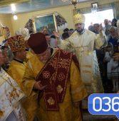 Богослужіння на Млинівщині очолив архієпископ (фото)