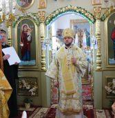 Архієпископ очолив богослужіння в сільському храмі