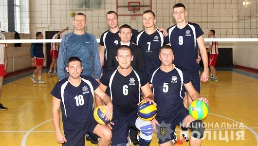 Команда Нацполіції найкраща у волейболі
