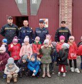 Малюки з «Калинки» знайомились із професією рятувальника