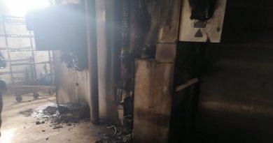 Підприємцю підпалили устаткування (фото)