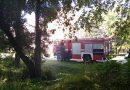Вранці в Млинові виникла пожежа (фото)