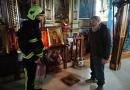 Вогнеборці працювали в храмі
